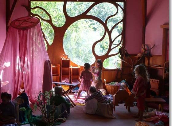 steiner school bohemian decor tree waldorf education