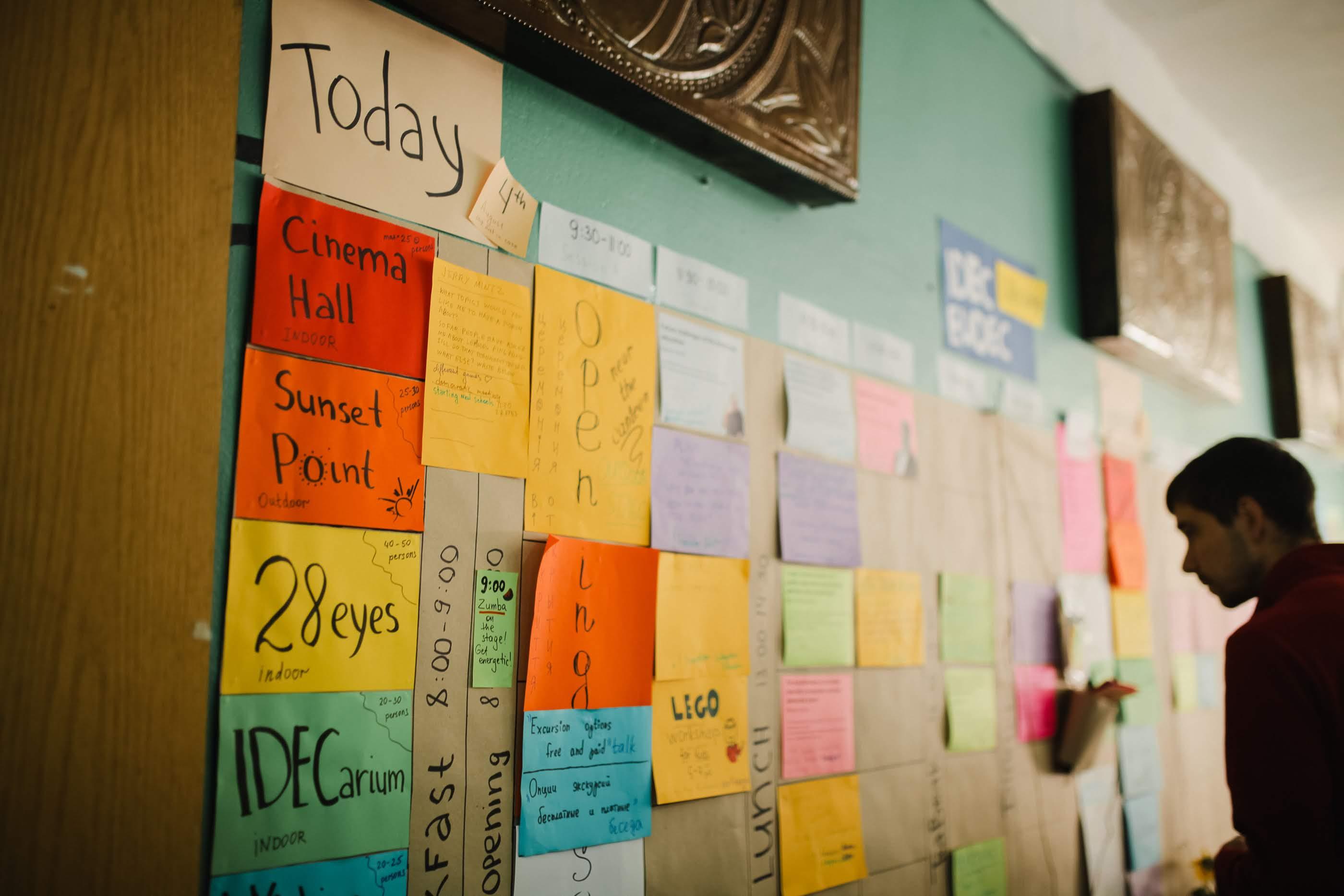 Планиране за деня, в което всички могат да предлагат и инициират дейности